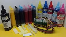 Pigment Ink +ink system CISS for use in Epson 1400 Artisan 1430 printer T079 79