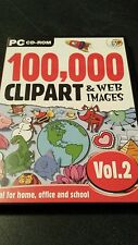 100,000 CLIP ART & WEB IMAGES VOL 2 FOR WIN 95, 98 AND XP
