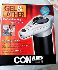 CONAIR GEL & LATHER HEATING SYSTEM FOR SHAVING,,      NEW