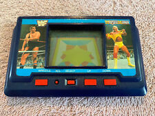 WWF AKKLAIM 1985 Wrestlemania Andre Vs Hulk Hogan Handheld Electronic Video Game