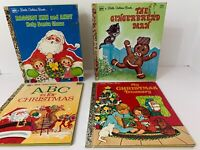 Vintage Golden Books Including Raggedy Ann and Andy Help Santa Claus