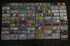 WHOLESALE LOT of 80 Nintendo Super Famicom Games SFC SNES Japan Import LOT #14