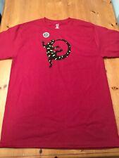 Liberty Graphics Salamander T-Shirt Nature M L Xl Wildlife Amphibian Lizard Red