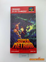 SUPER METROID Nintendo Super Famicom SNES SFC JAPAN Ref:313653