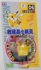 Pokemon Auldey Tomy Mni Pocket Figure Monster 1998 Vinatge rare #06 PIKACHU