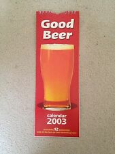 GOOD BEER Calendar 2003