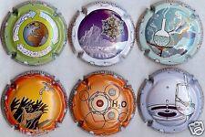 Série de 6  capsules Champ Générique  2013 ANNEE  INTERNATIONALE DE L/'EAU