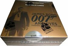 James Bond Archives 2014 Factory Sealed Box