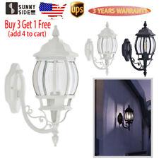Antique Outdoor Wall Light Fixture Exterior Lighting Lantern Lamp Porch Patio