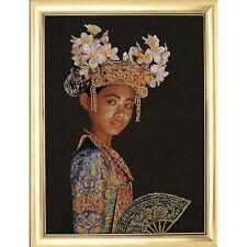 Thea Gouverneur  948  Danseuse Balinaise  Jobelan  Kit  Point de Croix  Compté