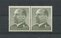 DDR 1087 y ULBRICHT 1965 GUTES PAPIER PAAR postfrisch ** m609