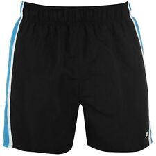 Polyester Striped Regular Size Swim Shorts for Men