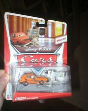 DISNEY PIXAR CARS DELUXE VEHICLE GREM WITH CAMERA. NEVER OPENED. FROM MATTEL.