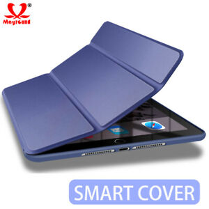 Leather Smart Case for New iPad 2018 2017 Back Cover Magnetic Mini Air Pro 9.7