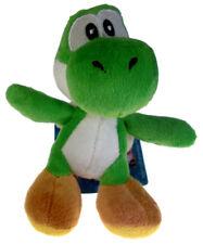 "Nintendo Super Mario Brothers Bros 4"" Green Yoshi Soft Plush Doll with Hanger"