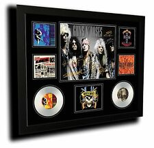 GUNS N ROSES AXEL ROSE SLASH SIGNED LIMITED EDITION FRAMED MEMORABILIA