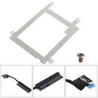 Hard Disk Drive Tray Caddy Bracket SATA Cable Connector For Dell Latitude E7440