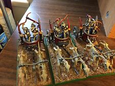 Tomb Kings CHARIOT PROPAINTED Warhammer Fantasy Age of Sigmar AoS