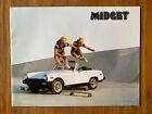 1978 MG Midget Convertible Original Car Sales Brochure Catalog Skateboarding