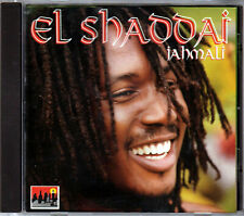 JAHMALI The EL SHADDAI Album on a CD of ROOTS REGGAE Jamaica RASTAFARIAN Rasta &