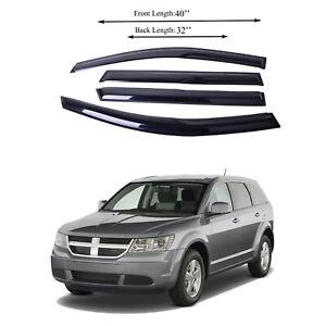 Fits for Dodge Journey 0817 Side Window Vent Visor Sun Rain Deflector Guard