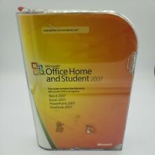 Microsoft MS Office 2007 Home and Student w/ Product Key