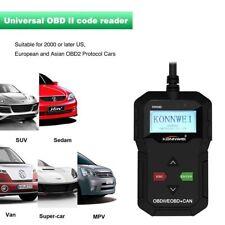 kw590 COCHE MOTOR Lector Código OBDII OBD2 EOBD Escáner de diagnóstico Tool