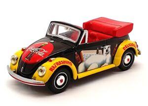 Matchbox 1/43 Scale Model Car 38046 - 1968 Volkswagen Beetle - Coca-Cola