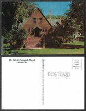 Old Maine Postcard - Rockland - St. Peter's Episcopal Church