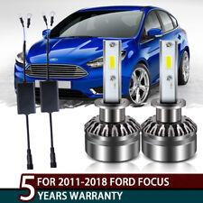 COB H1 LED Headlight High Beam 6500K White Light Bulbs Fit 2011-2018 Ford Focus