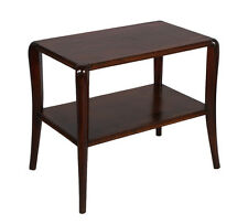TAVOLINO SALOTTO RESTAURATO COFFEE TABLE ART DECO' ANNI 30 NOCE MOGANO - MA S10
