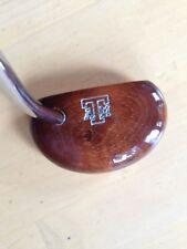 """Texas A & M Gig 'em Aggies Golf Wood Mallet Putter, 35"""" Aristocrat Grip"""