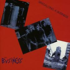The Business Singalong A Business CD NEW SEALED Punk Oi! Skinhead Harry May+