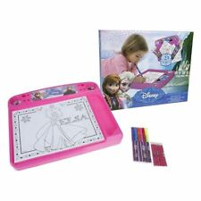 23pcs Disney Elza Drawing Board Set, Colouring Desk Creative Toy, Kids Art