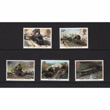 MINT 1985 GB FAMOUS TRAINS STAMP SET OF 4 MUH