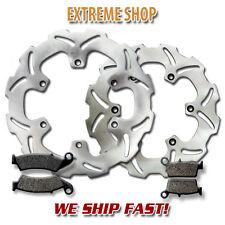 Yamaha F+R Brake Rotor + Pads YZ 125 YZ 250 2T (03-07) YZ250F YZ 450F 4T (03-07)