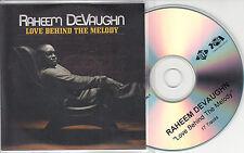 RAHEEM DEVAUGHN Love Behind The Melody 2008 UK 17-track promo test CD