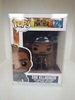 Black Panther Erik Killmonger #278 Funko Pop In Protector