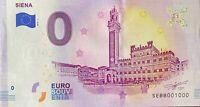 BILLET 0  EURO SIENA  ITALIE  2019  NUMERO 1000