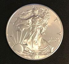2015 Walking Liberty American Eagle 1 Oz .9993 Fine Gem Brilliant Silver Dollar