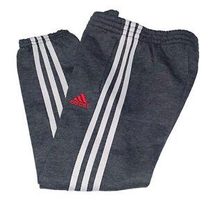 NWOT Adidas Boys' Jogger Sweatpants Athletic Pant Grey Size 6