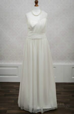 One Shoulder Sleeve Column/Sheath Unbranded Wedding Dresses
