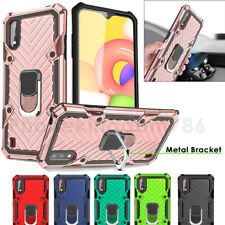 Case For Samsung Galaxy A21s A01 S20 Shockproof Rugged 360 Ring Stand Armor Covr