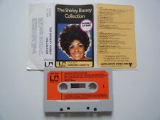 SHIRLEY BASSEY THE COLLECTION LONG PLAY CASSETTE '72 PAPER LABEL UNITED ARTISTS