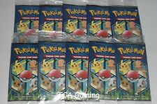 10x Sealed General Mills Pokemon Cereal 3-Card Booster Packs ! Near Mint