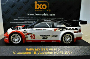 1/43 IXO BMW M3 GTR V8 #10 ALMS 2001. Excellent and boxed. GTM005.