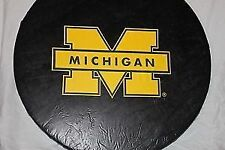 """University of Michigan Wolverines Spare Tire Cover up to 32"""" Diameter, Vinyl"""