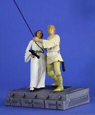 Star Wars 25th aniversario Suelto Potj Muy Raro Luke & Leia Swing a la libertad.