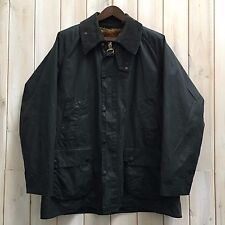 "Vintage Barbour Bedale Men's Dark Blue Wax Lined Jacket A105 Size C44""/112cm XL"