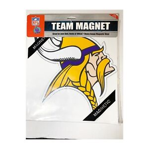 Minnesota Vikings Football Team NFL Magnet Made in USA Auto Home Office NEW